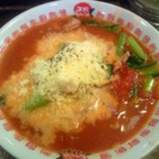 太陽のトマトチーズ麺