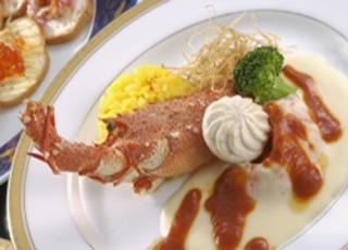 魚介のグラタン