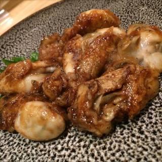 牡蠣の照り焼き