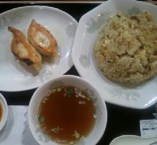 炒飯・焼餃子セット