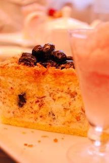 黒豆のケーキ