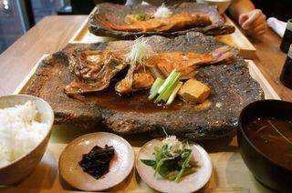 金目鯛一本煮付定食