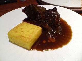 牛ホホ肉の柔らか煮 熱々の大根とサルサベルデ添え