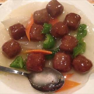 肉団子甘酢炒め