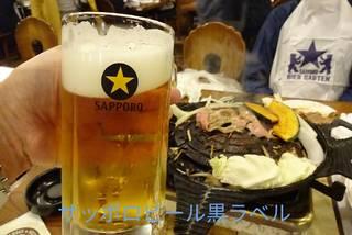 サッポロ生ビール黒ラベル樽生
