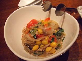 彩り野菜の塩チャプチェ