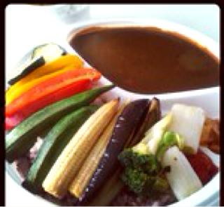 焼野菜カレー