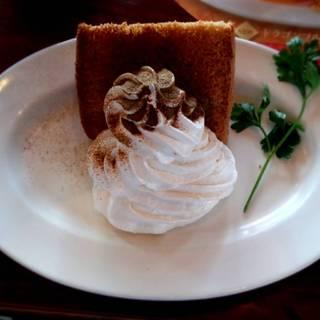 烏龍茶のシフォンケーキ