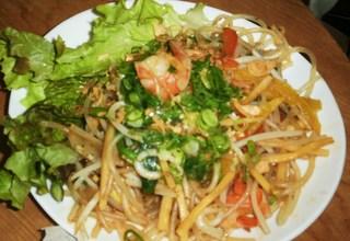 太米麺のたっぷり野菜焼きそば