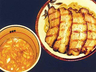 角ふじ小ブタづけ麺