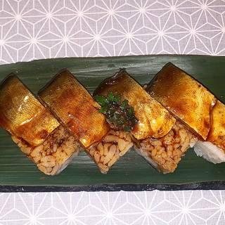鮎の蒲焼き寿司