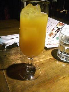 100%オレンジジュース