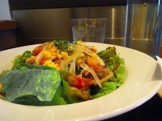 白インゲン豆とレンズ豆のサラダ