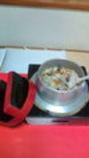 かき蒸し釜飯