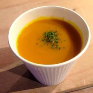 かぼちゃと玉ねぎのスープ