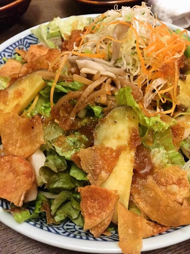 彩り秋野菜サラダ