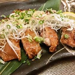 水郷鶏の葱塩焼き