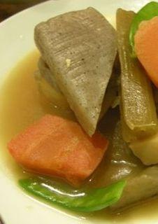 がんもと野菜煮定食