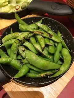 枝豆のオーブン焼き