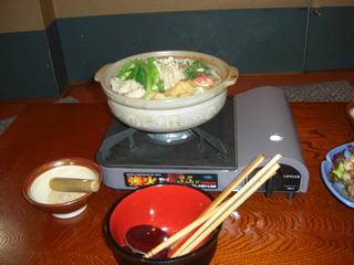 胡麻すりちゃんこ鍋