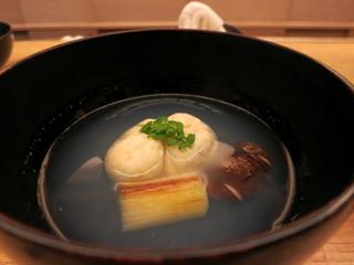 蛤の真薯椀