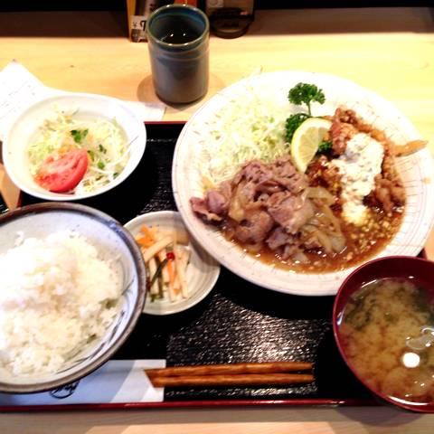 豚肉生姜焼