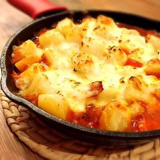 アリオリポテトのイタリアンチーズ焼き