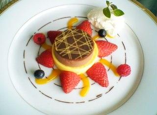 金環日食デザート ソレイユ