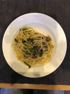 ホタルイカとカラスミのスパゲッティ