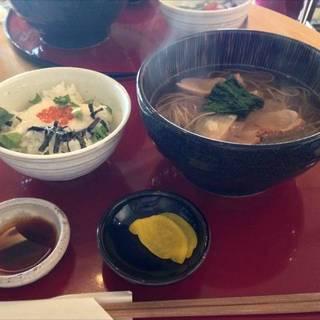 京鴨南蛮蕎麦と選べる丼ぶり
