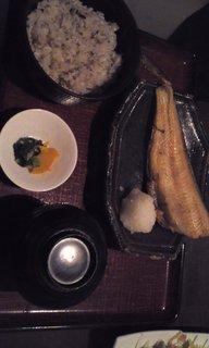 本日の焼き魚御膳