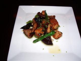 牛肉と椎茸の唐辛子炒め