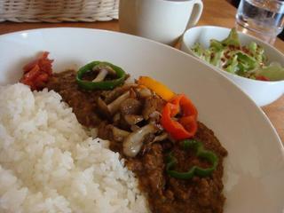 ひき肉とトマトのキノコカレーセット