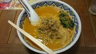 カレー坦々麺