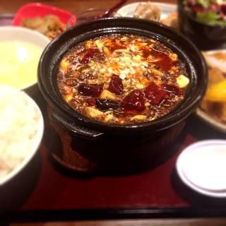 【辛】陳麻婆豆腐セット