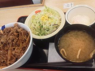 牛めし野菜セット