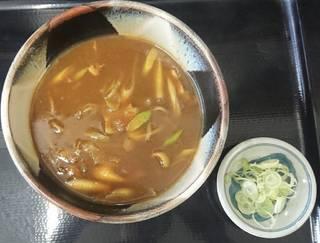 カレー南蛮蕎麦