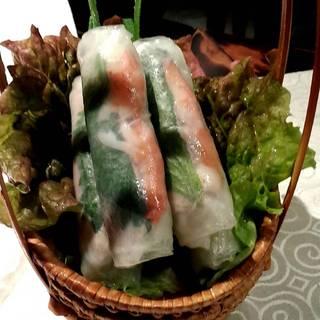 ゴイクォン(生春巻きと海老と豚肉入り)