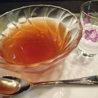 紅茶ゼリー(ガムシロップ)