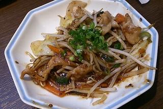 国産野菜炒め