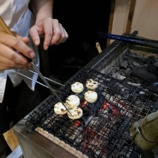 炭火焼き(長芋)