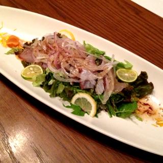 瀬戸内海鮮のたたきサラダ仕立て