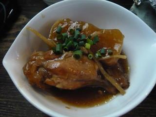 若鶏と大根の生姜煮