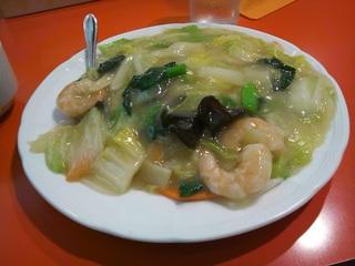 海老中華飯 スープ付