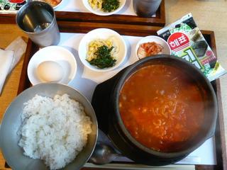 韓国ラーメン定食