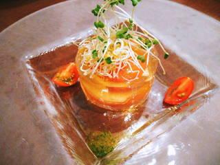 北海道産モッツァレラチーズとフルーツトマト
