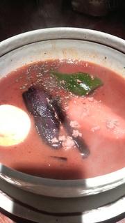 挽き肉と茄子のカレー