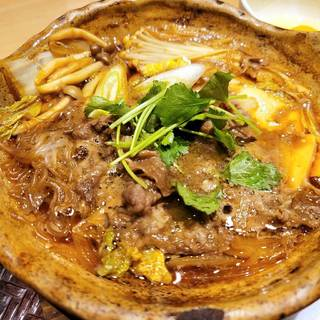 大戸屋特製国産牛のすき鍋