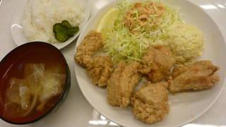 鶏もも唐揚げ定食(しお)