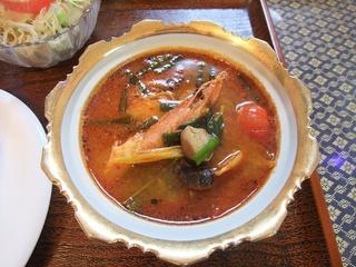 エビのトムヤムスープ